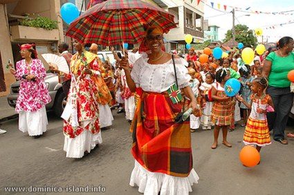 creole-woman-with-umbrella