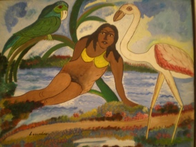 hector-hyppolite-the-siren-1946-american-folk-art-milwaukee-museum-of-art-milwaukee-wisconsin