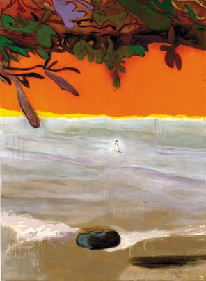 Peter Doig: J.M. at Paragon, 2004