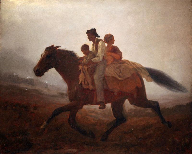 WLA_brooklynmuseum_Eastman_Johnson-A_Ride_for_Liberty